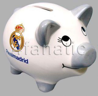 Klasyczna świnka - skarbonka Ral Madryt