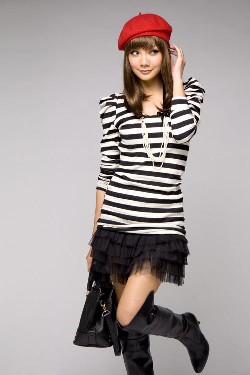 Tunika + spódniczka Japan Style