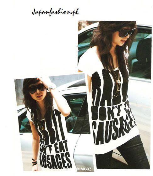 *Japan Fashion* Extra T-shirt z nadrukiem