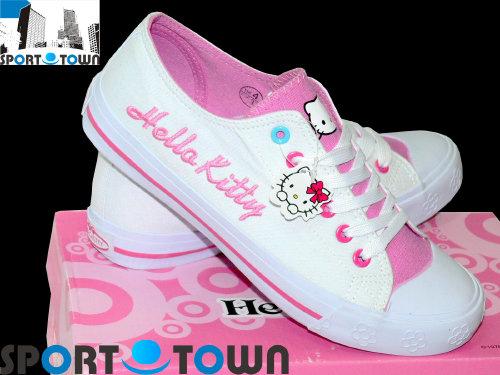 różowe buty kitty
