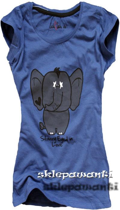 Koszulka ze słonikiem ;-*