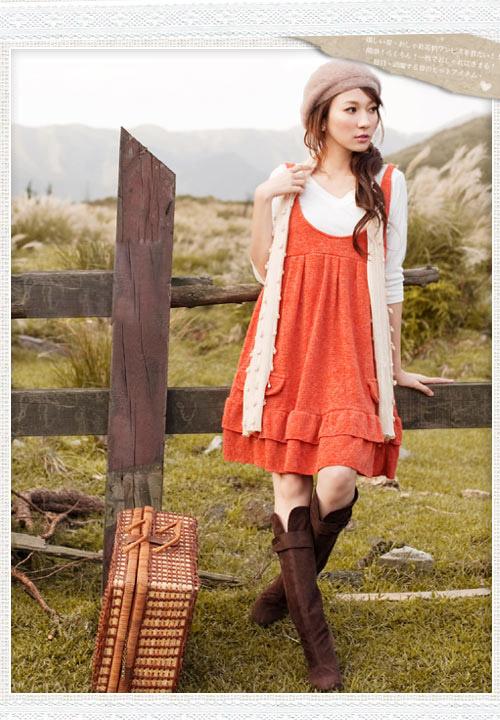 Sukienka, 'obwisła', Japan Style