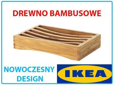NOWOCZESNA MYDELNICZKA NA MYDŁO BAMBUS IKEA DRAGA