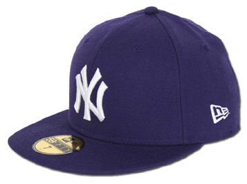 Fioletowa czapka New Era.
