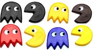 Kolczyki PAC MAN 2O wersji kolorystycznych