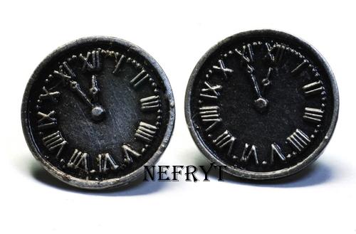 Kolczyki zegarki