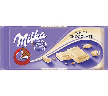 Milka Biała Czekolada