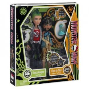 Cleo De Nile i Deuce Gorgon - lalki - Monster High