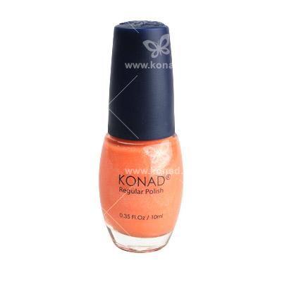 Pomarańczowy lakier do paznokci :**