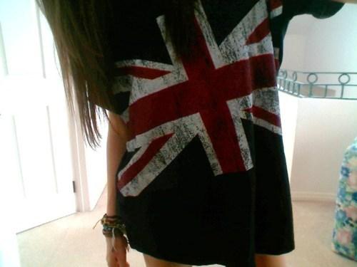 Tunika z flagą Wielkiej Brytanii