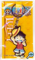 Brelok gumowy One Piece Luffy