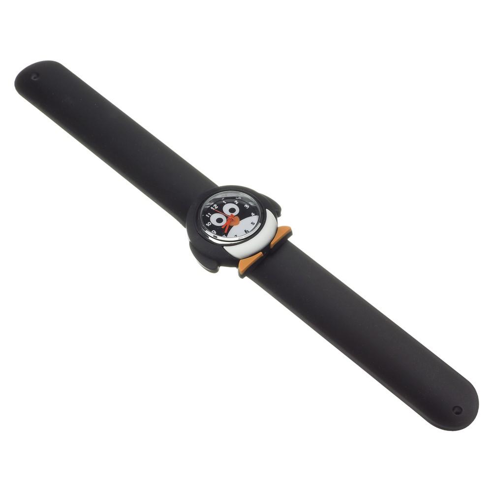 Zegarek z paskiem - pingwin