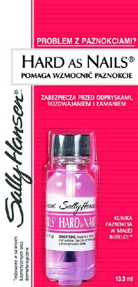 Sally Hansen Hard As Nails - Utwardzacz do paznokci Naturalny 13 ml