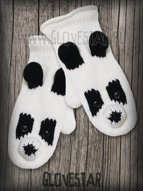 Rękawiczki Misie Panda GLOVESTAR
