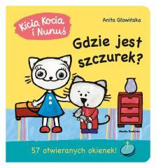 Kicia Kocia i Nunuś. Gdzie jest Szczurek?