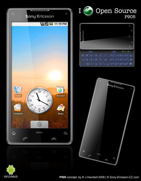 Sony Ericsson P905