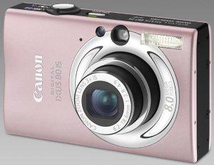 Aparat cyfrowy Canon Digital Ixus 80 IS (różowy)