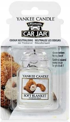 YANKEE CANDLE Zapach do samochodu SOFT BLANKET