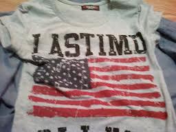 Bluzka z flagą USA