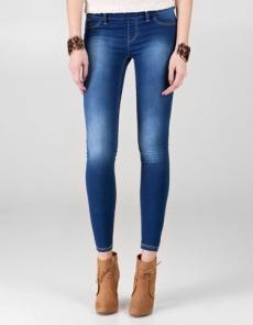 ciemno dżinsowe legginsy