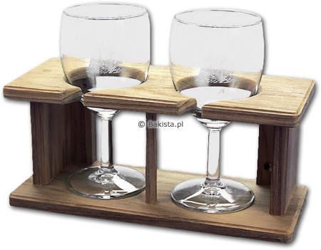 Uchwyt na kieliszki do wina