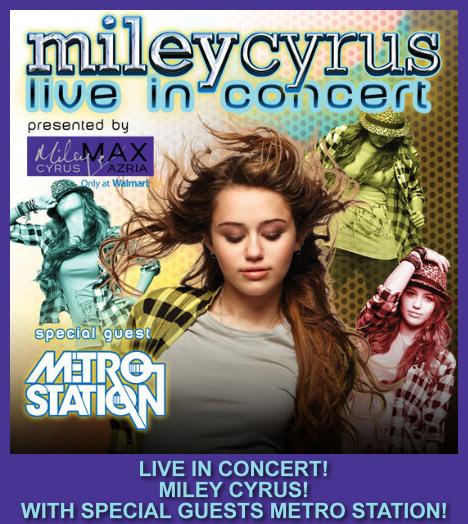 Bilet na koncert Miley Cyrus