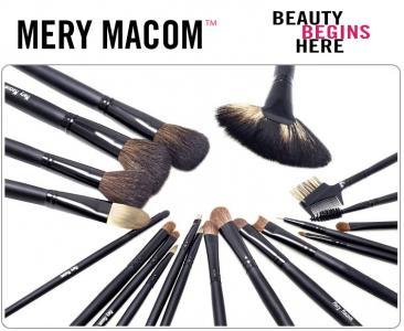 Mery Macom Pędzle do makijażu Etui 20 Standard-New