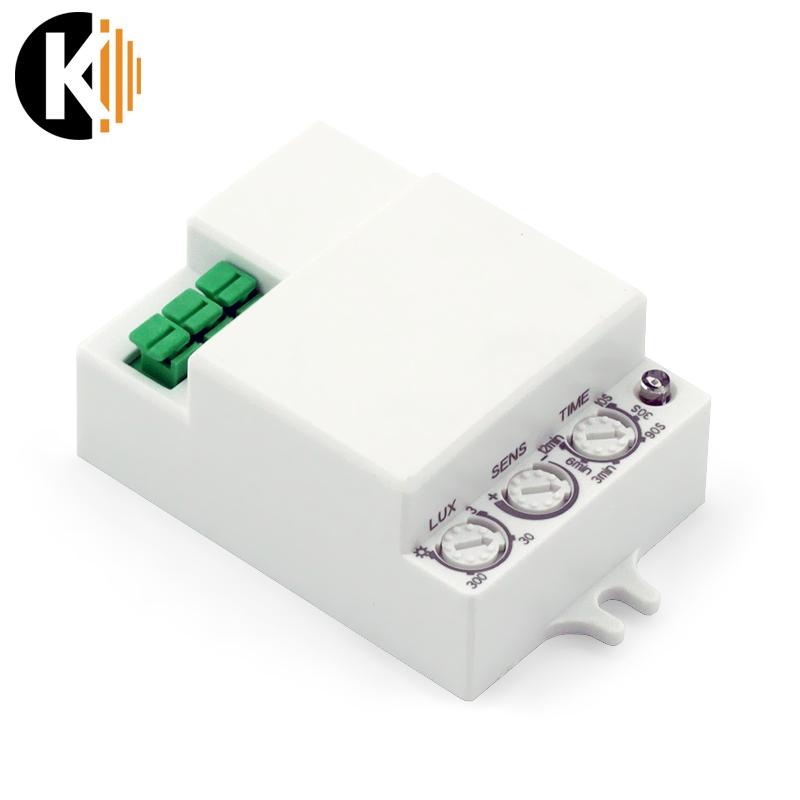 Mikrofalowy czujnik ruchu i zmierzchu, 360 stopni - S6 - ST701E
