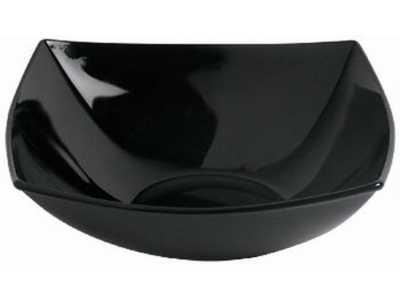 EXTRA Salaterka 24cm Quadrato  Luminarc czarna