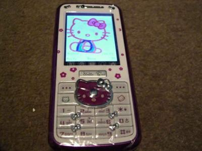 Fon Hello Kitty.