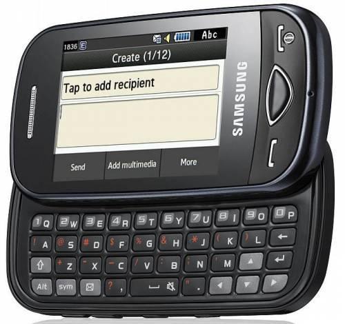 Telefon Dotykowy rozsuwany