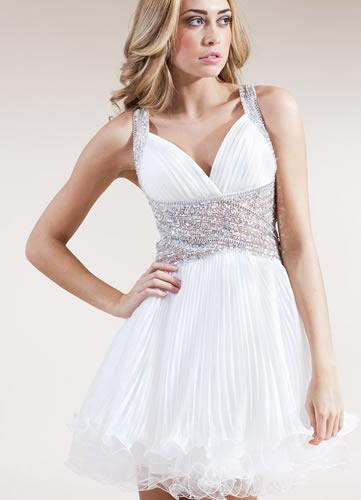 Sukienka CHANDRA - Ivory