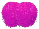 różowe pompony XD