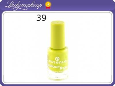 Essence Lakier do paznokci Colour Go - Nr 39
