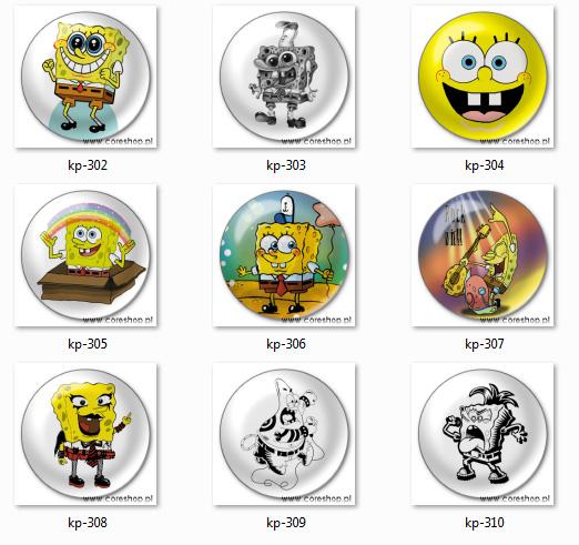 Przypinki SpongeBob