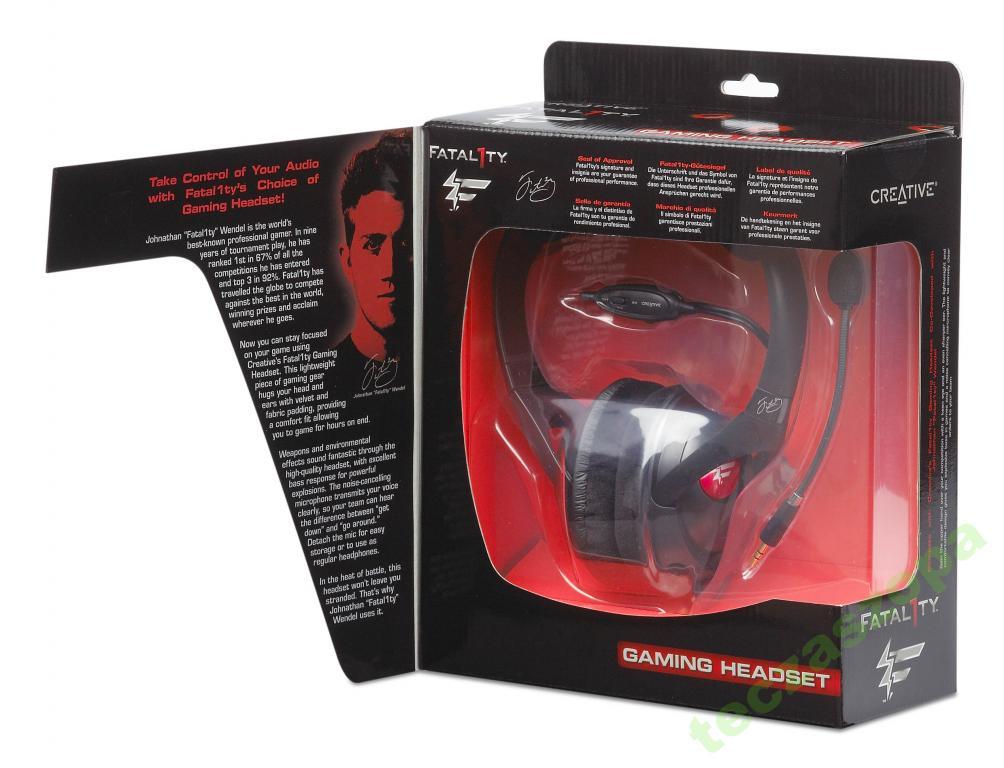 Słuchawki CREATIVE FATAL1TY HS-800