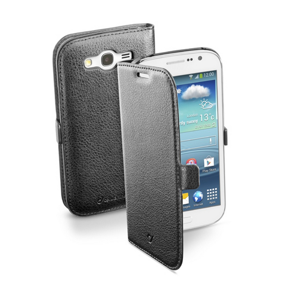 CELLULAR LINE Book Essential Etui Galaxy Grand Neo czarne