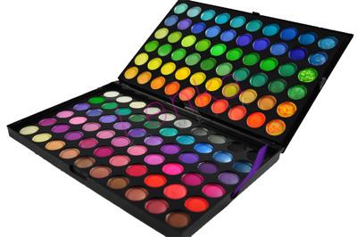 Paleta cieni 120 kolorów, cienie do makijażu
