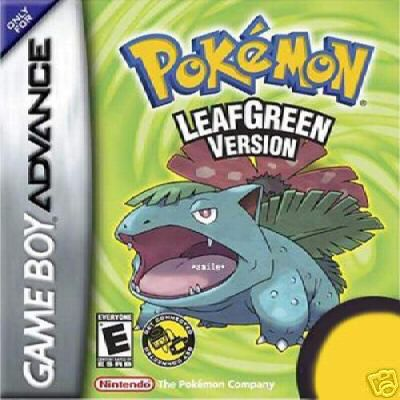 Gra pokemon leafgreen