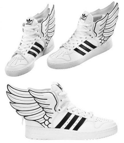 Buty Adidas ze skrzydełkami;p