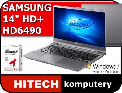 SAMSUNG Chronos 7 i5 8 750GB HD6490 W7HP ALUMINIUM