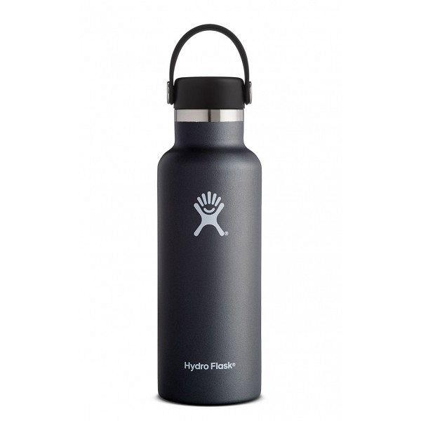 Butelka termiczna Standard Mouth 532ml Flex Cap Hydro Flask (black)