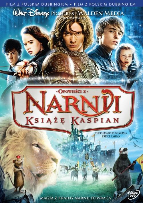 Opowieści z Narnii: Książę Kaspian DVD