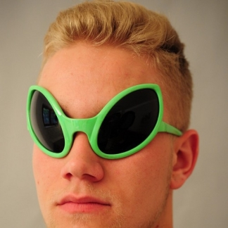okulary kosmity