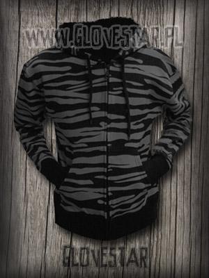 Bluza zebra szara ::Glovestar
