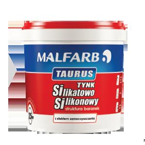 Tynk silikatowo silikonowy Taurus Baranek