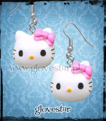 Kolczyki Hello Kitty