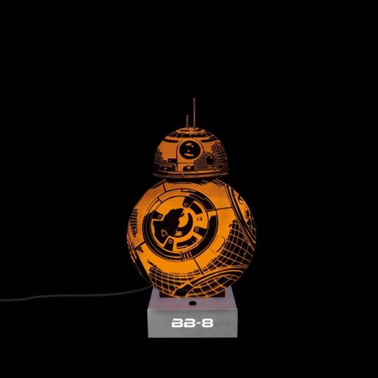 Lampka 3D BB-8