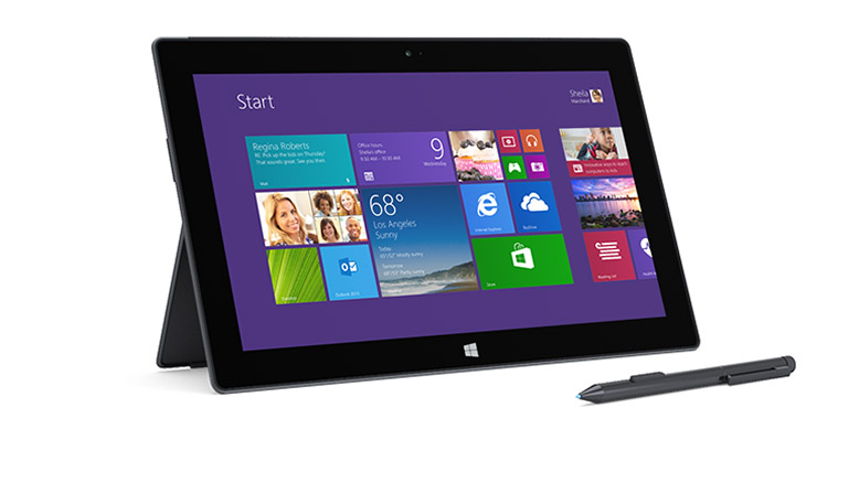 Microsoft Surface Pro 2 + Type Cover 2 (256 or 512 GB, black)
