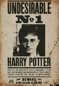 HARRY POTTER Poszukiwany